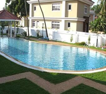 Independent Luxurious Villa in Golden Sands,Goa - 2BR Condo #24548809
