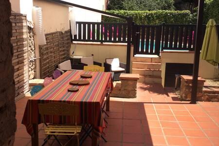 Charmante maison de village rénovée avec jardin - Trouillas - Haus