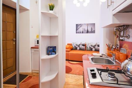 New apartment 10 min to Lviv center - Lakás