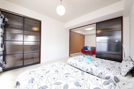 Tower apartment in doutonbori river - Appartement