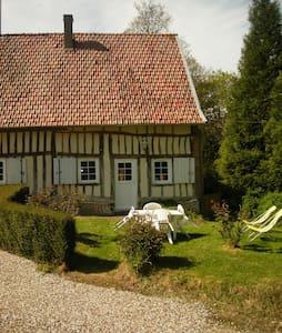 Maison normande pour 2 pers - Haus