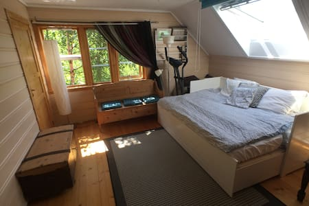 Nice room by the Hardangerfjord, near Trolltunga- - Haus