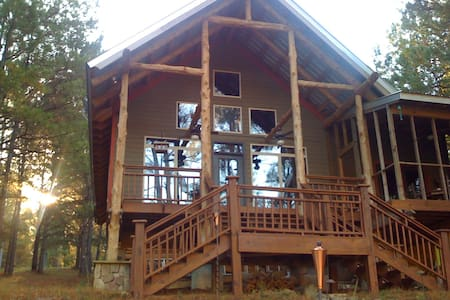 Beautiful cabin on private lake! - Chalet