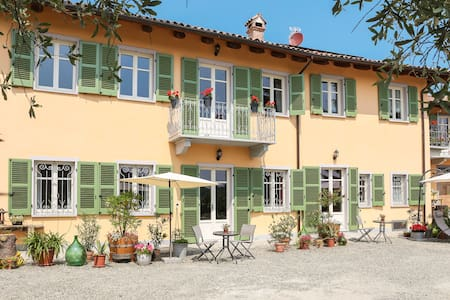 Cozy Apartment for 2 on Wine Farm - Agliano Terme - Bed & Breakfast