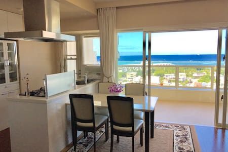 Resort APT w/Pool|Ocean View&Sunset|5min beach|63㎡ - Selveierleilighet
