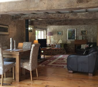 Converted Barn in Traditional Farm House - Laveyssière