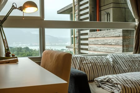 Private room with riverview and natural light! - Tamsui District - Apartment