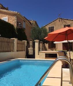 Maison en Provence avec piscine - Saint-Roman-de-Malegarde - House