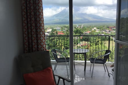 Brand New Unit w/ view of Mt Mayon - Apartment