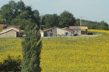 Tournesol Holiday Cottage with Pool - Juignac