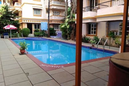 Studio Apartment on Rent - Candolim - Appartamento