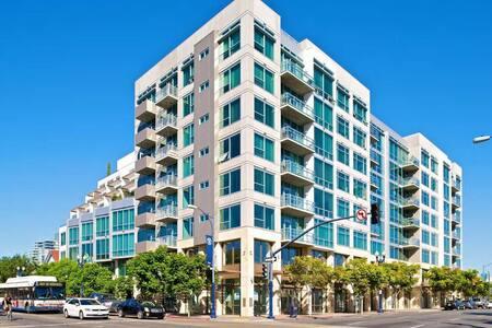 Luxury Loft in Downtown SD 5 min walk to Comic Con - San Diego - Loft