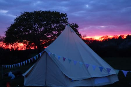 Cosy bell tent - Isle of Wight - Telt