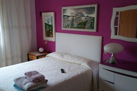 Habitación doble con baño en suite en San Ciprian - Leilighet