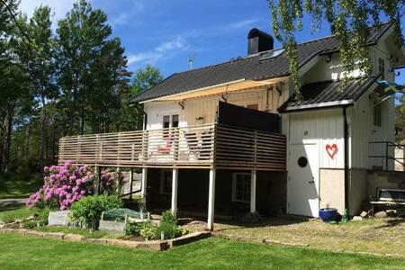 Idyllic westcoast holidayhouse - Hunnebostrand - Zomerhuis/Cottage