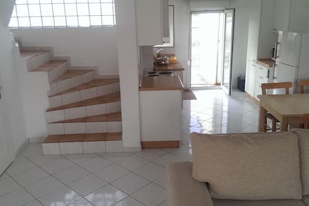 Spacious 3-bed maisonette in the south of Crete - Huis