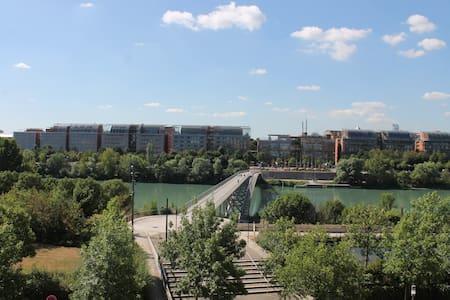 Loft avec vue, Cité Internationale Lyon - Caluire-et-Cuire