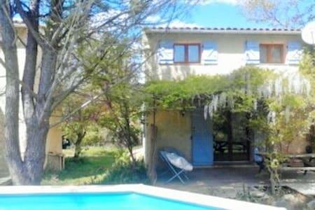 bastidon 4/6 personne avec piscine - Correns - Casa