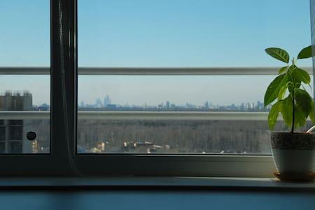 Высокие потолки и вид на Москву - Балашиха