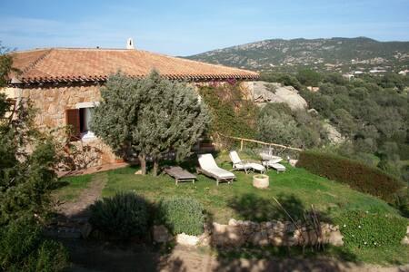 camera doppia privata con bagno int - Baia Sardinia - Bed & Breakfast