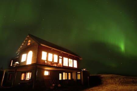 Guesthouse Björk, 3 people Loft - Kirkjubæjarklaustur