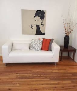 The Space This apartment is located in upper west side  approximately 10  minutes ride to Central Park   Gay Friendly   the apt is located in  2 block from  the train stop (train 1 Stop 157st ) and 3 blocks  from the C train