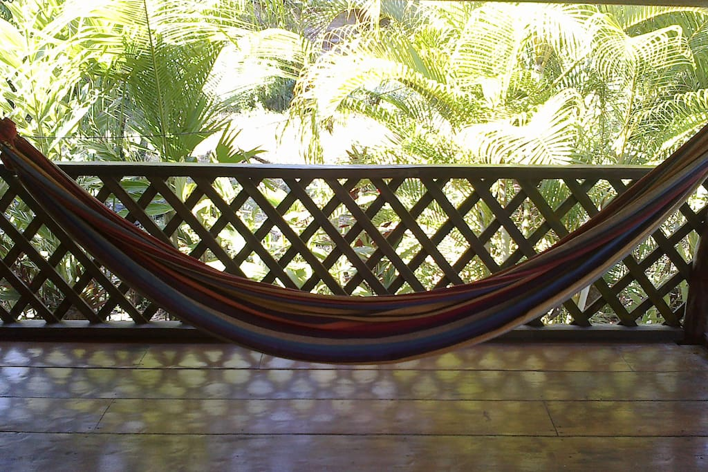 Kick back in the hammock...