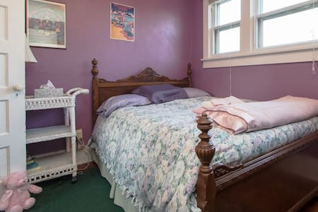 Upstairs Purple Room