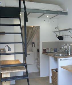 adorable studio  Lyon Confluence -  La Mulatière - Huis