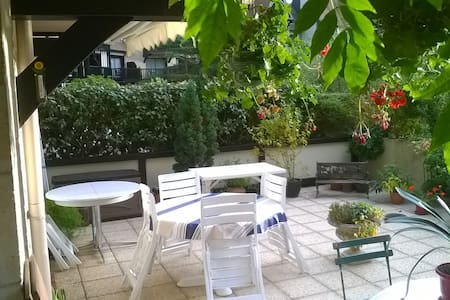Deauville  2 pièces/Terrasse - Apartament