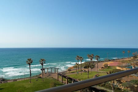 Familial Flat on Sea Front - Netanya - Byt