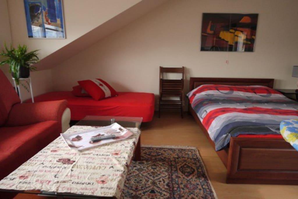 un flat in center Varna au 7 étage.
