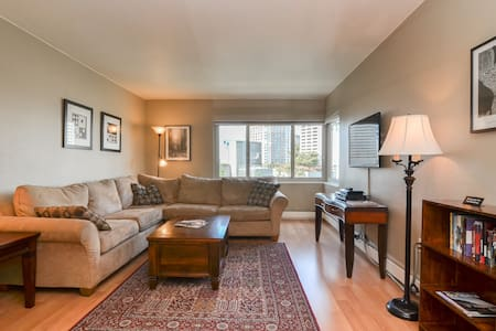 2 Bedroom, 2 Bath, Downtown Seattle