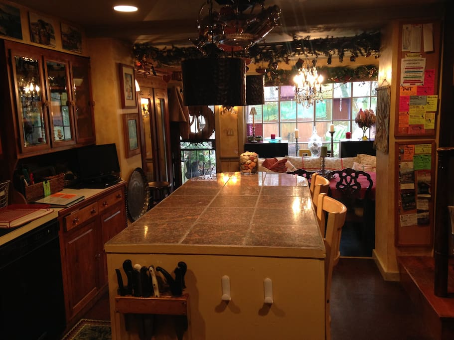 1st Floor Kitchen, looking into Dining Room