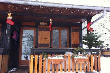 Chalet coeur bauges ski et detente - Aillon-le-Jeune - Chalet