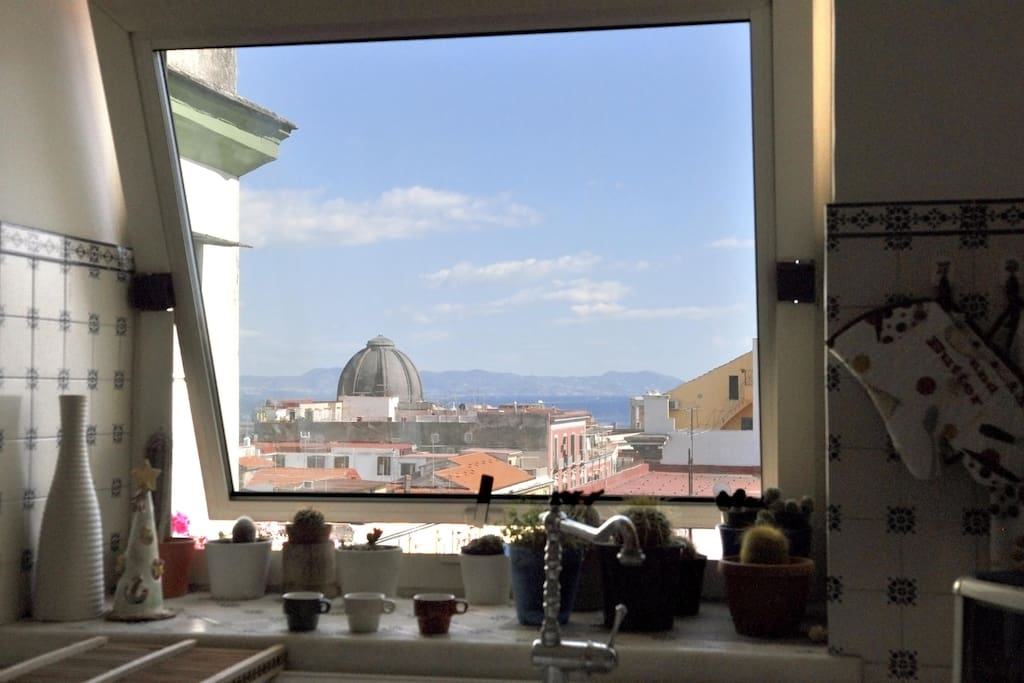 Vista cucina/View from the kitchen
