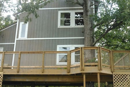 A totally cool treehouse! Treedom! - Huis