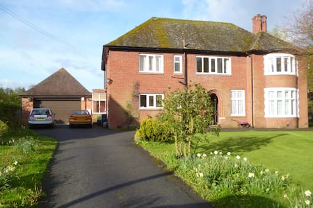 A quiet haven in a busy townlet! - Builth Wells - House