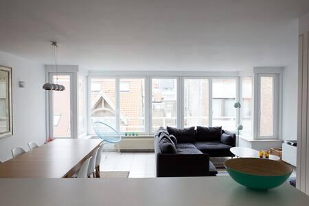 Lichtrijk appartement met zeezicht - Knokke-Heist - Lakás
