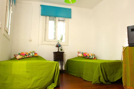 Habitación doble con clarabolla - Casa