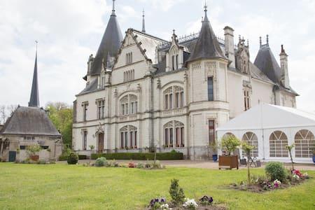Château de Véretz vue sur le Cher - Schloss