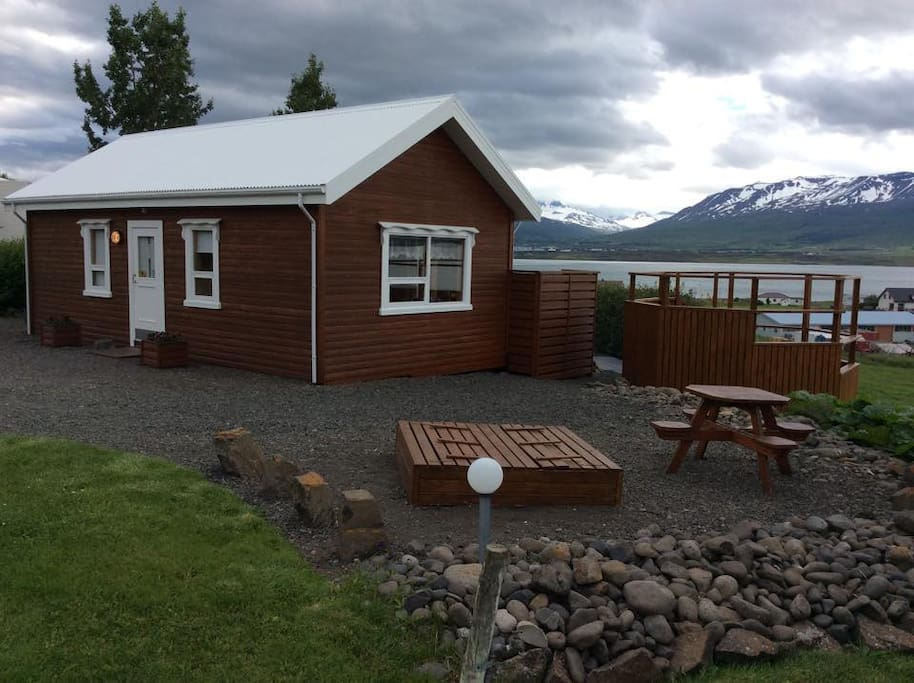 Friendly cottage with great view
