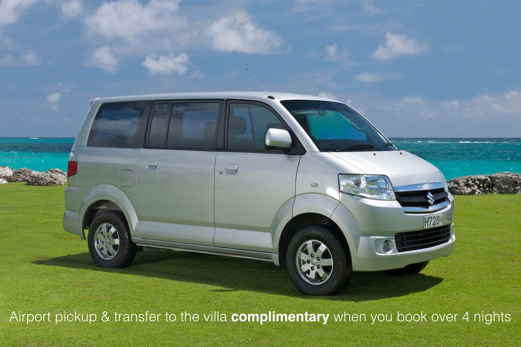 20 mins transfer from DPS Airport to the villa US $ 15