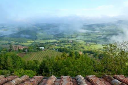 Stunning Views in Medieval Village!