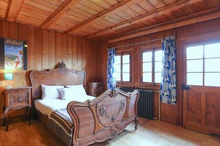 Hostel Chalet Martin Rustic room - Gryon - Chalet