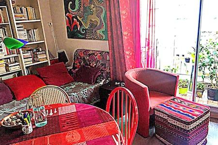 Sympathique studio dans un quartier populaire - Lägenhet
