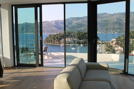 Luxury apartment with great views