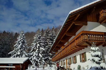 4 Sterne Ferienwohnung Almberg mit Balkon - Spiegelau - Wohnung