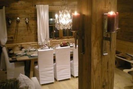 Ski-in ski-out in a luxury chalet - Jochberg