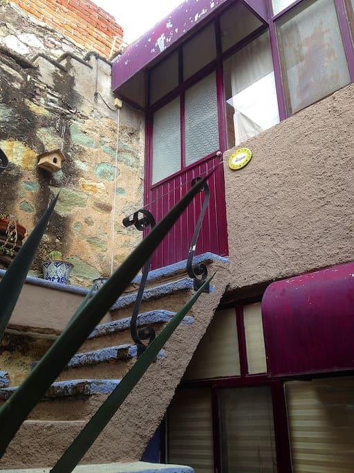 Apartamento en segundo nivel